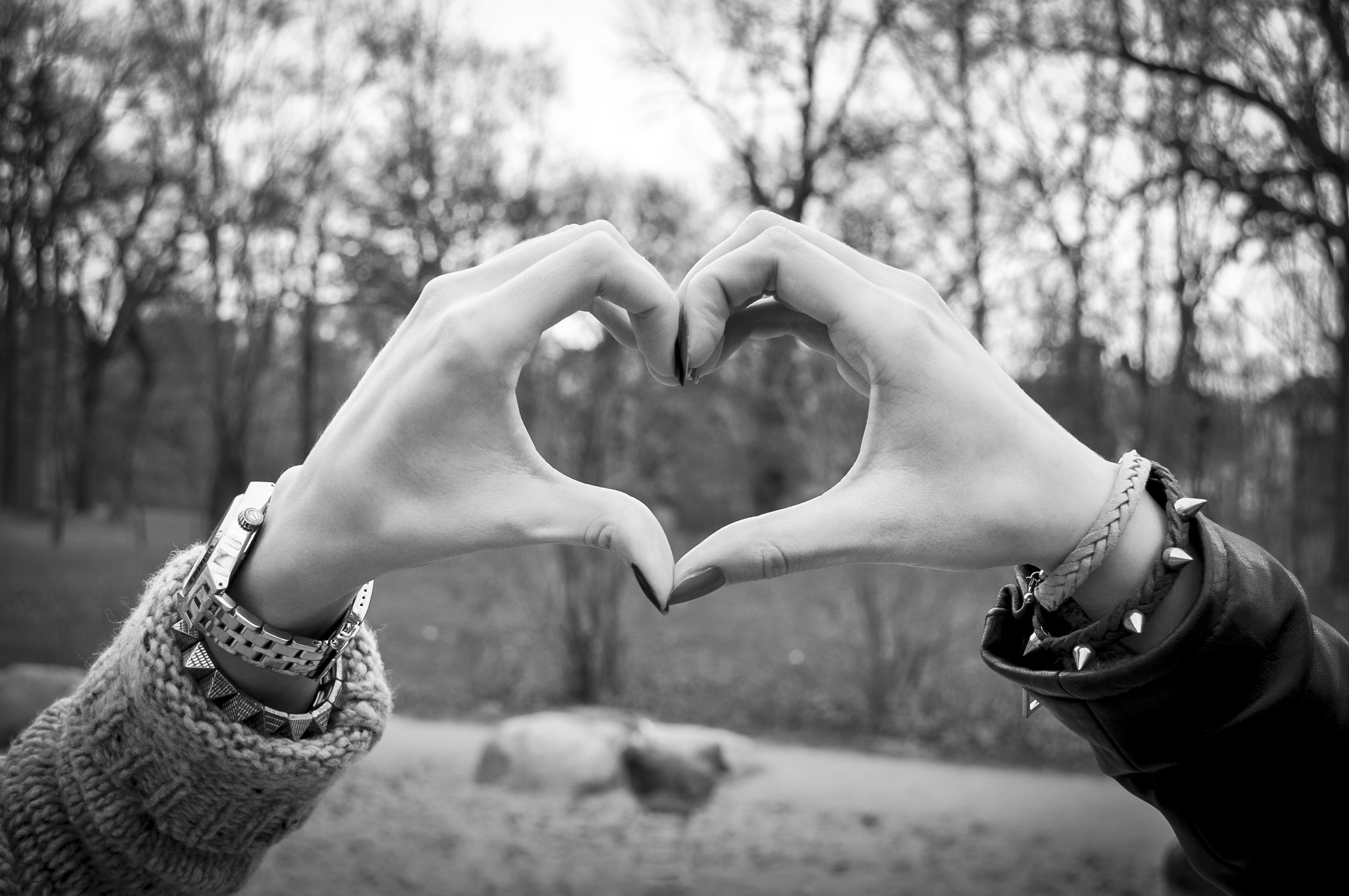 Ein Herz - das Symbol für den Blog einestundezeit
