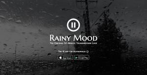 Rainy Mood - Musik am Arbeitsplatz