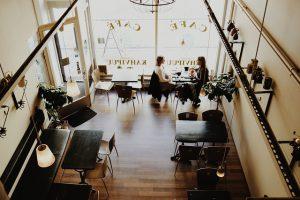 Kaffeehausatmosphäre - Musik am Arbeitsplatz